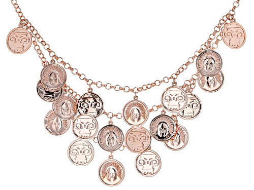 Photo of Timna Jewelry Collection™  Copper Coin Replica Charm Necklace - Size 20