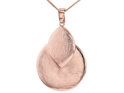 Photo of Timna Jewelry Collection™ Brushed Copper Enhancer With Chain