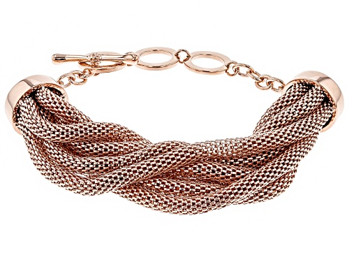 Photo of Timna Jewelry Collection™  Copper Seven-Strand Mesh Bracelet - Size 7.25