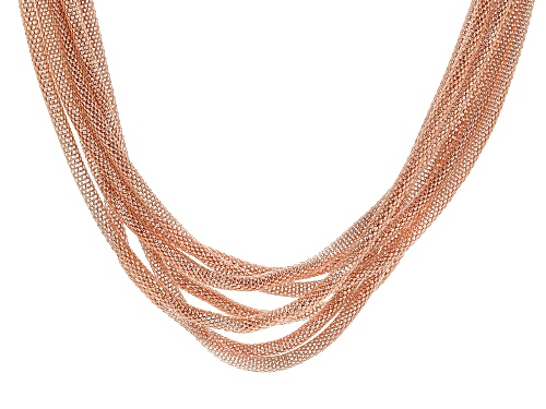 Photo of Timna Jewelry Collection™ Copper Seven-Strand Mesh Necklace
