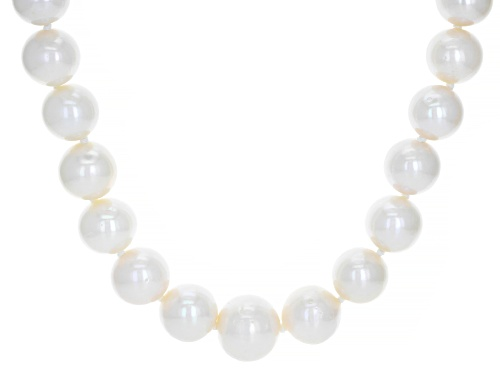 Photo of Genusis™ 11-14mm Cultured Freshwater Pearl & Bella Luce® Rhodium Over Silver 24 Inch Necklace - Size 24