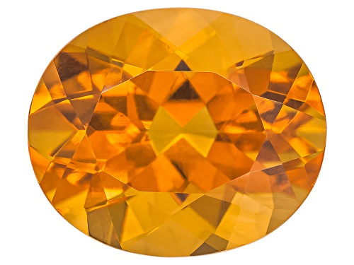 Photo of Madeira Citrine Avg 4.00ct 12x10mm Oval