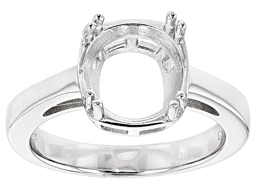 10mm Round Sterling Silver Solitaire Ring Casting