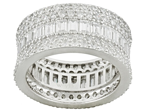 Photo of Charles Winston For Bella Luce ® 9.02ctw Rhodium Over Silver Ring - Size 5