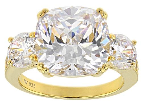 Photo of Charles Winston For Bella Luce® 14.87ctw Scintillant Cut® Diamond Simulant Eterno™ Yellow Ring - Size 9