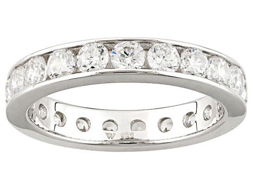 Photo of Charles Winston For Bella Luce ® 3.32CTW White Diamond Simulant Rhodium Over Sterling Silver Ring - Size 12
