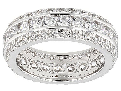 Photo of Charles Winston For Bella Luce ® 3.61CTW Diamond Simulant Rhodium Over Silver Ring (2.29CTW DEW) - Size 8