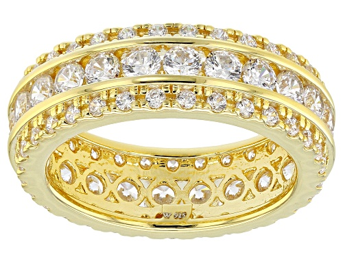 Photo of Charles Winston For Bella Luce ® 3.61CTW Diamond Simulant Eterno ™ Yellow Ring (2.29CTW DEW) - Size 9