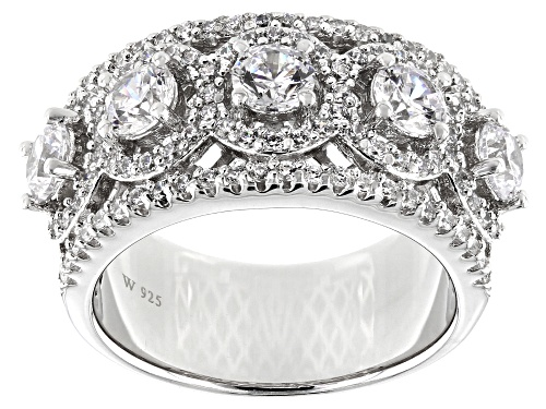 Photo of Charles Winston for Bella Luce ® 3.60ctw Rhodium Over Sterling Silver Ring (2.28ctw DEW) - Size 10