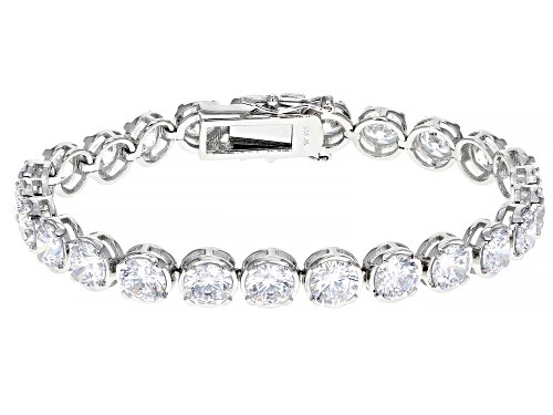 Photo of Charles Winston for Bella Luce ® 30.18ctw Rhodium Over Sterling Silver Bracelet (19.32ctw DEW) - Size 8