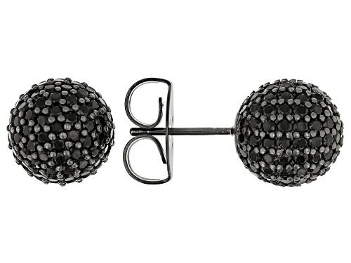 Photo of Charles Winston for Bella Luce ® 5.64ctw Black Diamond Simulant Black Rhodium Over Silver Earrings