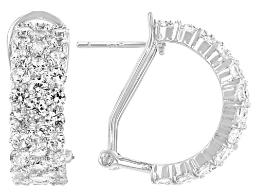 Photo of Charles Winston for Bella Luce ® 5.53ctw  Rhodium Over Sterling Silver Earring (3.50ctw DEW)