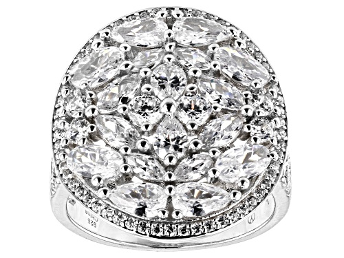 Photo of Bella Luce ® 5.21ctw Rhodium Over Sterling Silver Ring - Size 6