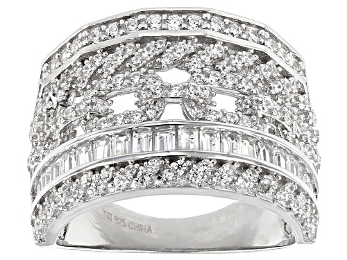 Photo of Bella Luce ® 2.71ctw Rhodium Over Sterling Silver Ring - Size 8
