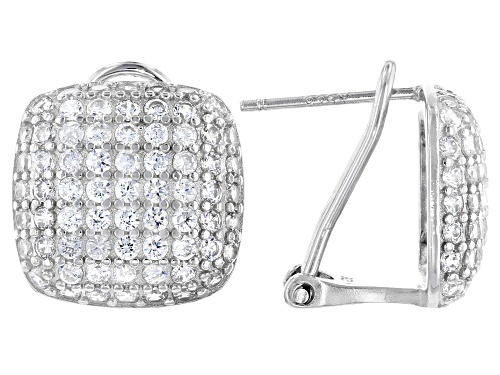 Photo of Bella Luce ® 2.16ctw Rhodium Over Sterling Silver Earrings