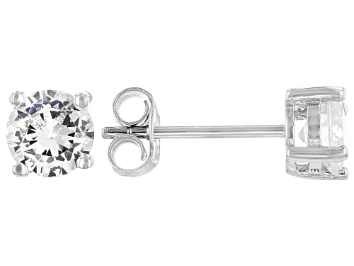 Photo of Bella Luce ® 1.58ctw Rhodium Over Sterling Silver Stud Earrings