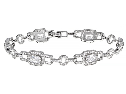 Photo of Bella Luce ® 9.30ctw Rhodium Over Sterling Silver Bracelet - Size 7