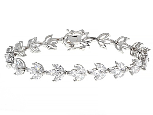 Photo of Bella Luce ® 21.73ctw Rhodium Over Sterling Silver Bracelet - Size 7.25