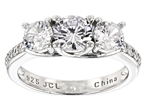 Photo of Bella Luce® 3.30ctw Rhodium Over Sterling Silver Ring - Size 11