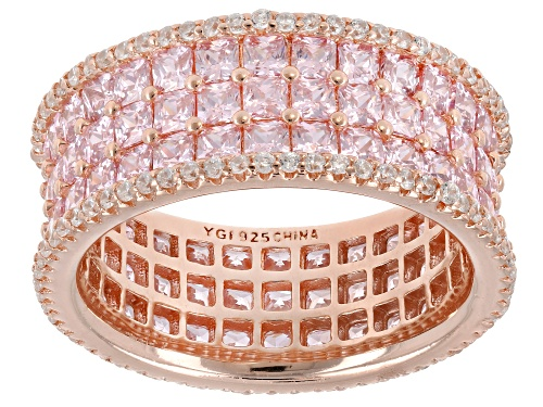 Photo of Bella Luce ® 6.71CTW Pink And White Diamond Simulants Eterno ™ Rose Ring - Size 8