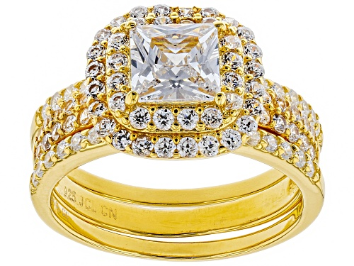 Bella Luce ® 2.18CTW Eterno ™ Yellow Ring With Bands - Size 8