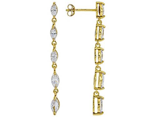 Photo of Bella Luce ® 2.56CTW White Diamond Simulant Eterno ™ Yellow Earrings