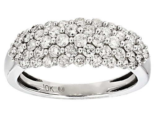 Photo of 1.00ctw Diamond 10k White Gold Ring - Size 7