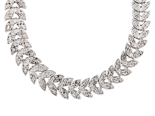 Photo of Emulous™ 1.00ctw Diamond Rhodium Over Brass Necklace - Size 18