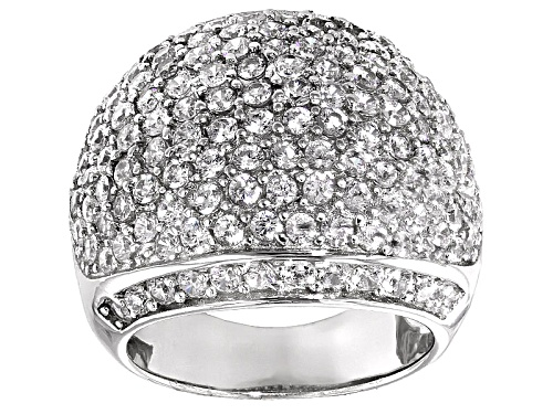 Photo of Bella Luce ® 9.00ctw Rhodium Over Sterling Silver Ring (4.11ctw Dew) - Size 5
