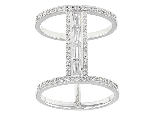 Photo of Bella Luce ® 2.90ctw Rhodium Over Sterling Silver Ring - Size 6