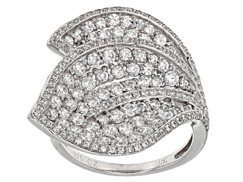 Photo of Bella Luce ® 3.71ctw Rhodium Over Sterling Silver Ring - Size 6