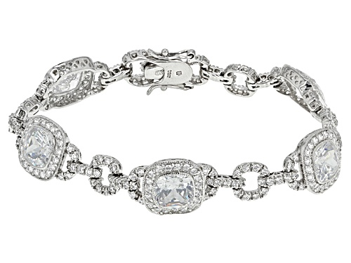 Photo of Bella Luce ® 26.22ctw Rhodium Over Sterling Silver Bracelet - Size 7.5