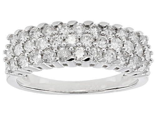 Photo of 1.00ctw Round White Diamond 14k White Gold Ring - Size 7