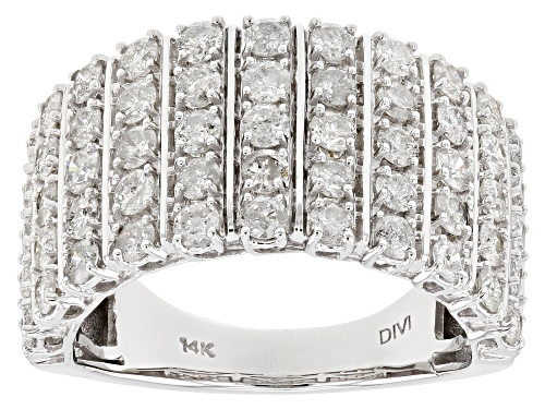 Photo of 2.00ctw Round White Diamond 14k White Gold Ring - Size 7