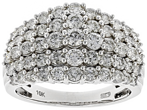 Photo of 2.00ctw Round White Diamond 10K White Gold Ring - Size 6