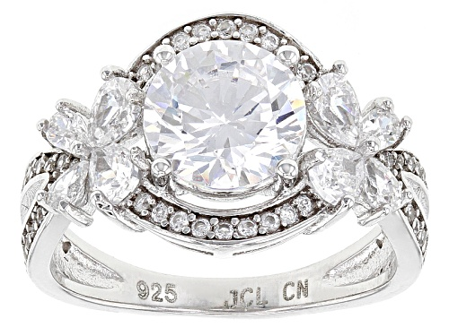 Photo of Bella Luce ® 5.50ctw Rhodium Over Sterling Silver Ring (3.72ctw Dew) - Size 11