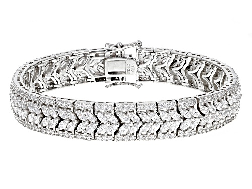 Photo of Bella Luce ® 21.12ctw Rhodium Over Sterling Silver Bracelet - Size 7.25