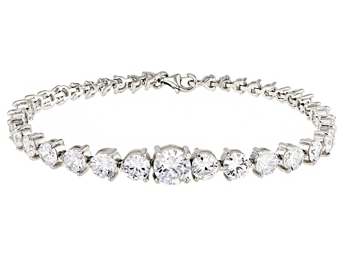 Photo of Bella Luce ® 23.34ctw Rhodium Over Sterling Silver Bracelet - Size 8