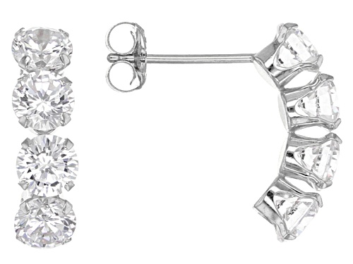 Photo of Bella Luce ® 3.27ctw 14k White Gold Earrings (2.00ctw Dew)