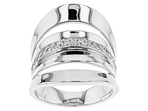 Photo of Bella Luce ® 0.35ctw Rhodium Over Sterling Silver Ring - Size 7