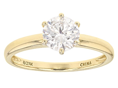 Photo of Bella Luce ® 2.25ctw 14k Yellow Gold Ring - Size 10