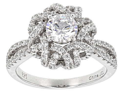 Photo of Bella Luce ® 2.22ctw Rhodium Over Sterling Silver Ring - Size 11