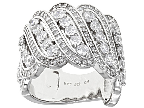 Photo of Bella Luce® 4.83ctw Rhodium Over Sterling Silver Ring - Size 7