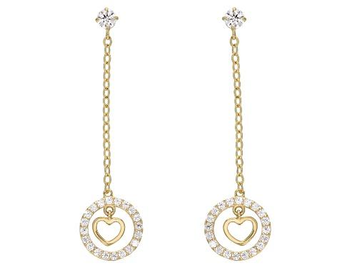 Photo of Bella Luce® 0.44ctw 10k Yellow Gold Earrings