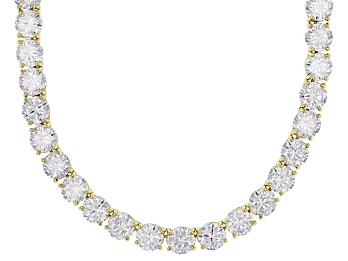 Photo of Bella Luce® 130.00ctw Eterno™ Yellow Necklace (79.36ctw DEW) - Size 18