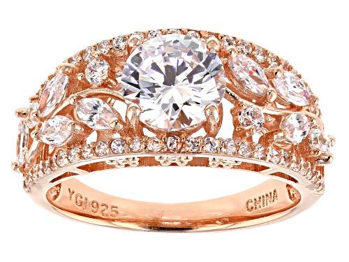 Photo of Bella Luce ® 4.06CTW White Diamond Simulant Eterno ™ Rose Ring - Size 8