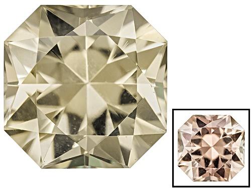 Photo of Color change diaspore min 0.60ct 5mm square octagonal brilliant cut