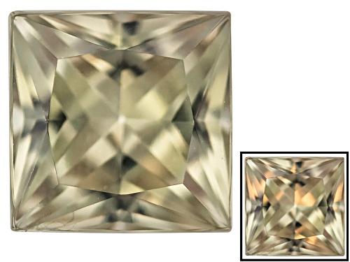 Photo of Color change diaspore minimum 0.85ct 6mm princess cut