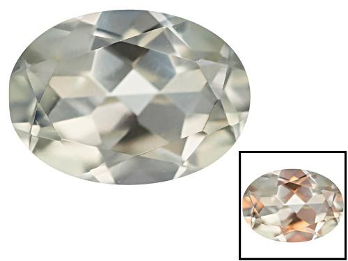 Photo of Color change diaspore 0.80ct 7x5mm oval