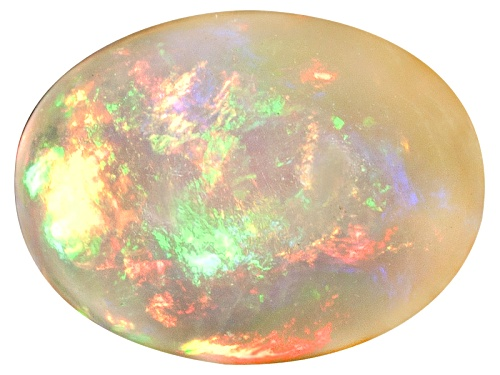 Photo of Ethiopian opal min 0.75ct 8x6mm oval cabochon